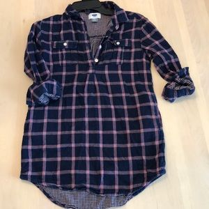 Girl's flannel dress